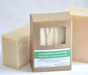 Cold Process Soap - Eucalyptus & Spearmint