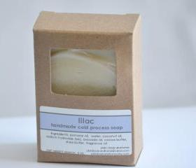 Handmade Cold Process Soap - Lilac floral scent