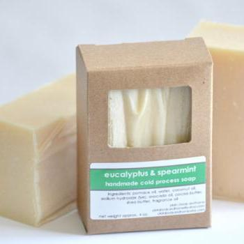 Cold Process Soap - Eucalyptus &amp; Spearmint